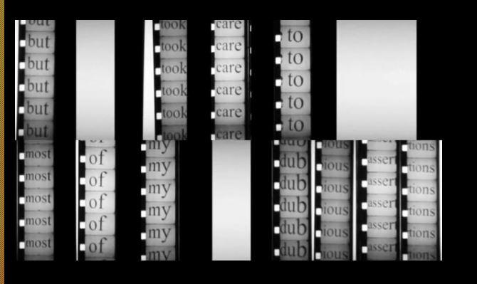 2 Fragments of Motion Video Still