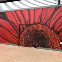 Mirvia Sol Eckert Red Flower
