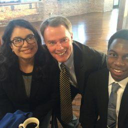 2018 interns with mayor